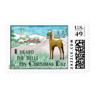 Oí las campanas el día de navidad franqueo