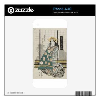 Ôi of the Ebiya, from the series Modern Customs iPhone 4S Decal