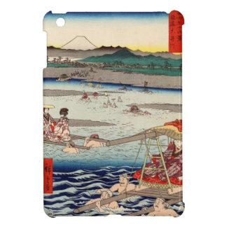 Ōi River between Suruga and Tōtōmi Provinces Cover For The iPad Mini
