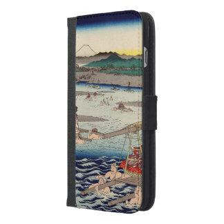 Ōi River between Suruga and Tōtōmi Provinces iPhone 6/6s Plus Wallet Case