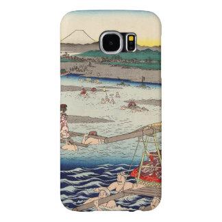 Ōi River between Suruga and Tōtōmi Provinces Samsung Galaxy S6 Case