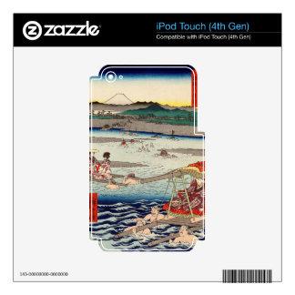 Ōi River between Suruga and Tōtōmi Provinces Skins For iPod Touch 4G