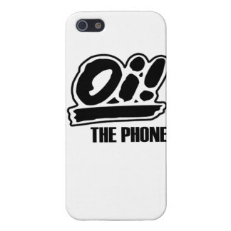 Oi! The Phone iPhone SE/5/5s Cover