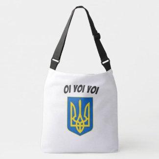 Oi Yoi Yoi Ukrainian Tryzub Tote Bag