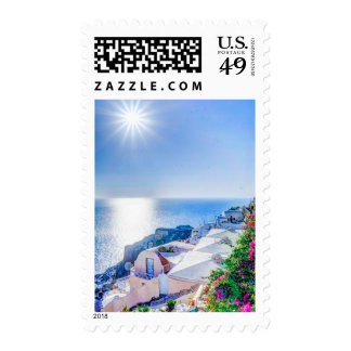 oia-417822 oia-417822 oia santorini summer greece postage