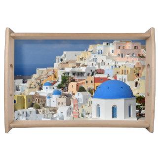 Oia, bandeja de Santorini