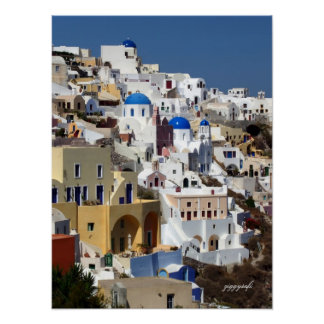 Oia, Greece poster