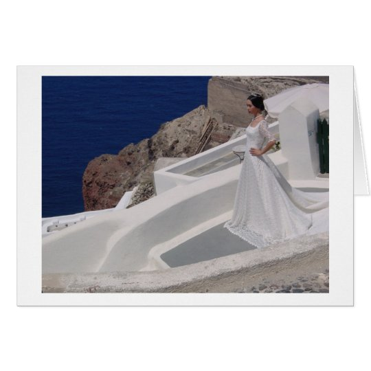 Oia, Santorini - Bride Card