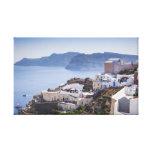 Oia Santorini Grecia Lienzo Envuelto Para Galerías