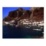 Oia Santorini Grecia Tarjeta Postal