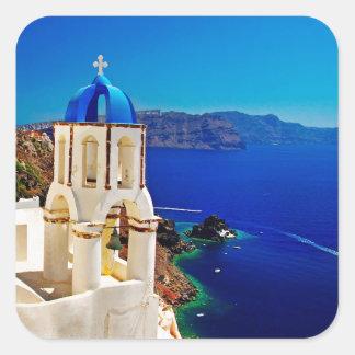 Oia Santorini Island Greece Stickers