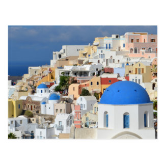 Oia Santorini Postcard