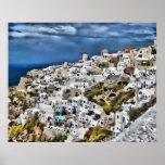 Oia, Santorini Posters