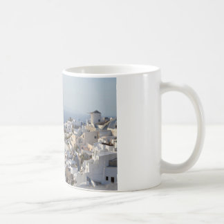 Oia Santorini View Coffee Mug