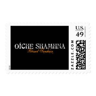 Oíche Shamhna: Blessed Samhain Postage Stamp