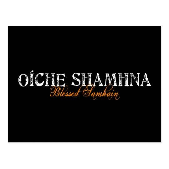 Oíche Shamhna: Blessed Samhain Postcard