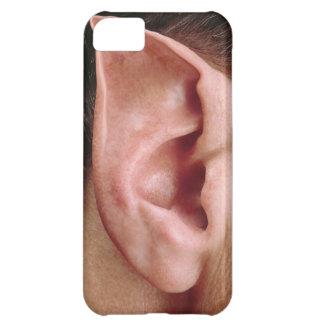 Oído acentuado divertido carcasa iPhone 5C