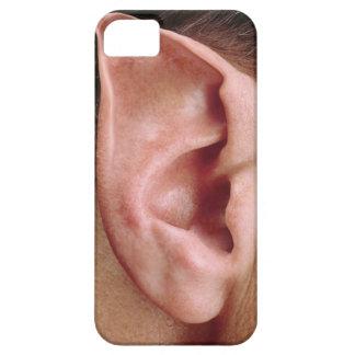 Oído acentuado divertido funda para iPhone SE/5/5s