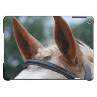 oídos del caballo funda para iPad air