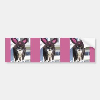 Oídos del conejito del gato del gatito que llevan pegatina para auto