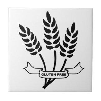 Oídos del trigo azulejo cuadrado pequeño