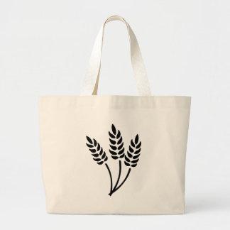 Oídos del trigo bolsa tela grande