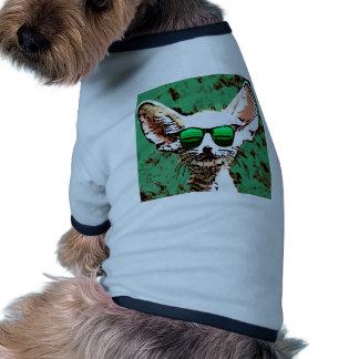 Oídos grandes frescos 1 ropa de perros