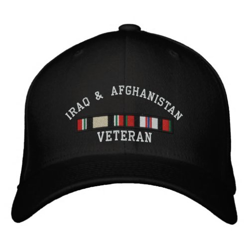 OIF and OEF Embroidered Baseball Hat