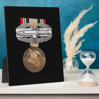 OIF Combat Action Badge Display Plaques