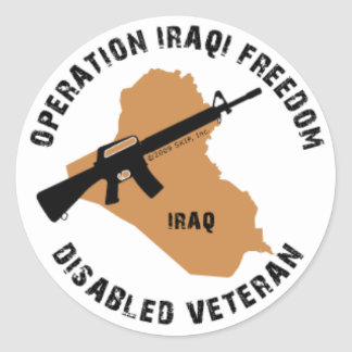 OIF Decal Classic Round Sticker