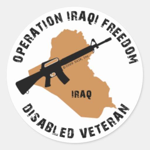 OIF Decal Round Sticker