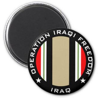 OIF Iraq 2 Inch Round Magnet