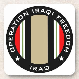 OIF Iraq Drink Coasters