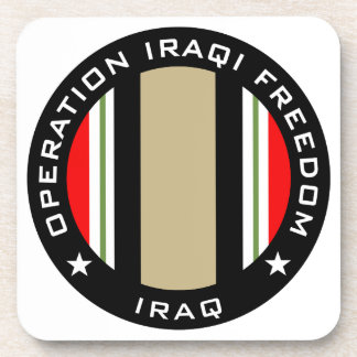 OIF Iraq Posavasos De Bebidas