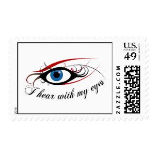 """""""Oigo con los sellos #3 de mis ojos"""""""