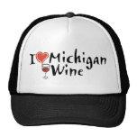 Oigo Michigan Wine1 Gorras De Camionero