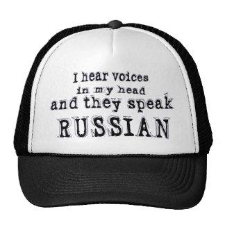Oigo voces gorras de camionero