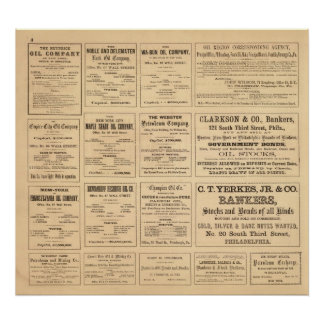 Oil Advertisements Print