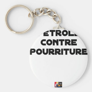 Oil against Rot - Word games Keychain