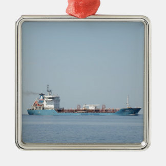 Oil And Chemical Tanker Leon. Metal Ornament