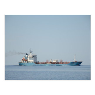 Oil And Chemical Tanker Leon. Postcard