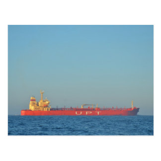 Oil And Chemical Tanker Postcard
