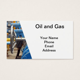 Oil and Gas Business Card