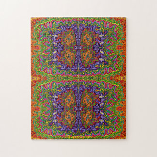 Oil and Water Abstract Jigsaw Puzzle