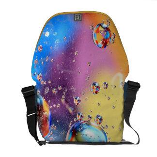 Oil And Water Rickshaw Messenger Bag