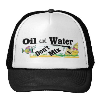 oil and water trucker hat