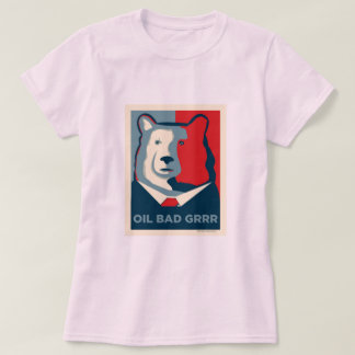 Oil Bad Womens Baby Doll T-shirt