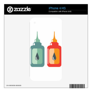 Oil Bottle Vector Decals For The iPhone 4S