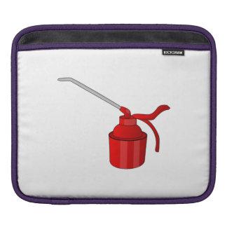 Oil Can iPad Sleeves