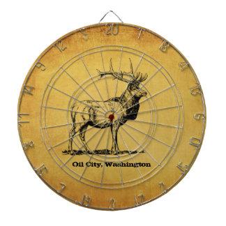 Oil City, Washington Elk Dart Board